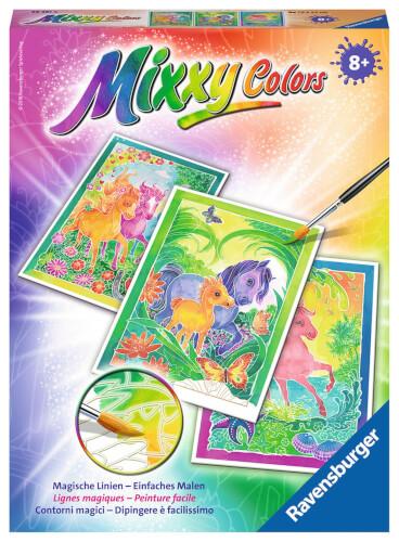 Ravensburger Malen Nach Zahlen Mixxy Colors Ponys 293513