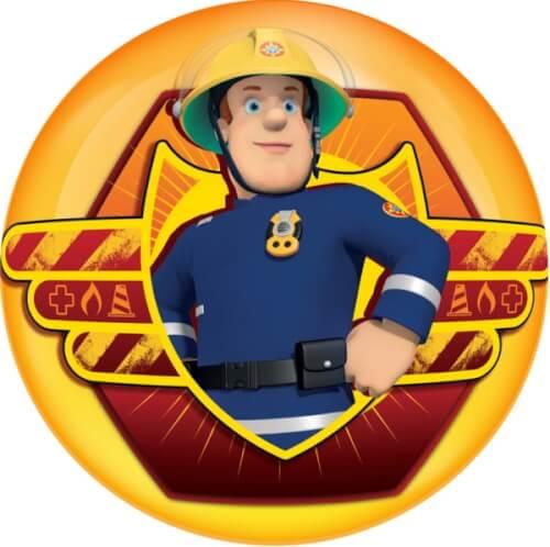John Feuerwehrmann Sam Light Up Ball 4 Zoll, Sortiert 12