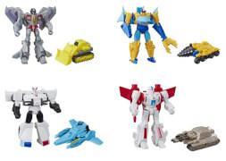 Hasbro E4219EU4 Transformers CYB Spark Armor Battle Figur