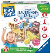 Ravensburger 045105 ministeps® Unser Bauernhof-Spiel