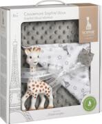 Geschenkset: Sophie la girafe inkl. Schmusedecke