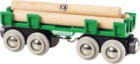 BRIO 63369600 Langholzwagen