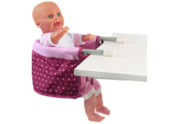 Puppen-Tisch-Sitz