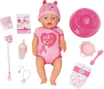 Zapf BABY born® Soft Touch Girl Blue Eyes
