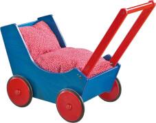 HABA Puppenwagen Blau/Rot