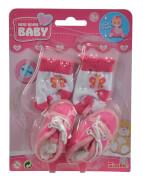 New Born Baby Schuhe und Socken, 4-sort.