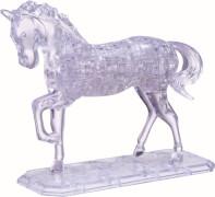 HCM Kinzel - 3D Crystal Puzzle - Pferd, 100 Teile, ab 14 Jahre