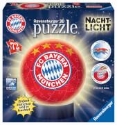 Ravensburger 121779 Puzzleball Nachtlicht FC Bayern München 72 Teile