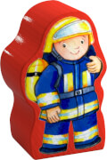 HABA - Meine ersten Puzzles - Feuerwehr, ab 2 Jahren