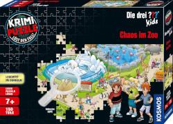 Kosmos Krimipuzzle ??? Kids 150 Teile / Chaos im Zoo