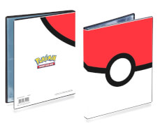Ultra Pro Pokémon Pokeball 4-Pocket Portfolio
