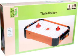Natural Games Tisch-Hockey, aus 100% FSC Holz, ca. 51x31x10,5 cm, für 2 Spieler, ab 5 Jahren
