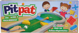 Simba Games & More - Pitpat Tisch-Minigolf, ab 1 Spieler, ab 5 Jahre