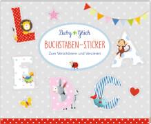 Coppenrath Verlag 94750 BabyGlück - Stickerbuch Buchstaben-Sticker