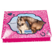 Depesche 8931 Horses Dreams Schreibwarenbox,  Motiv 2, pink