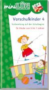 miniLÜK Vorschulkinder 4, Lernheft, 29 Seiten, von 5 - 7 Jahren