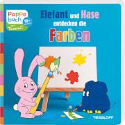 Tessloff Pappebuch. Elefant und Hase entdecken die Farben