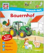 Tessloff WAS IST WAS Junior Mitmach-Heft Bauernhof