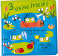 Mein Badebuch - 3 kleine Frösche