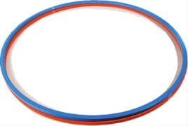 Gymnastik-Reifen, Kunststoff, # ca. 70 cm, sortiert