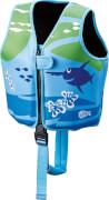 BECO SEALIFE Schwimmweste für Kinder, 3 - 6 Jahre, 18 - 30 kg, blau/grün