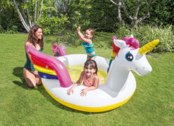 SprayPool ''Mystic Unicorn'', ab 2 Jahre, 272x193x104cm
