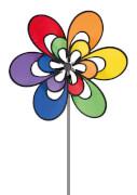 Twisted Wheel Windspiel ca. 48 x 100 cm