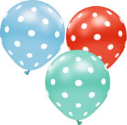 Riesen-Luftballons Hoch in die Luft