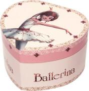 Musikherz groß Ballerina