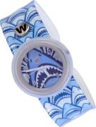 Watchitude Slap Uhr Shark frenzy, wasserdicht bis 1 Meter